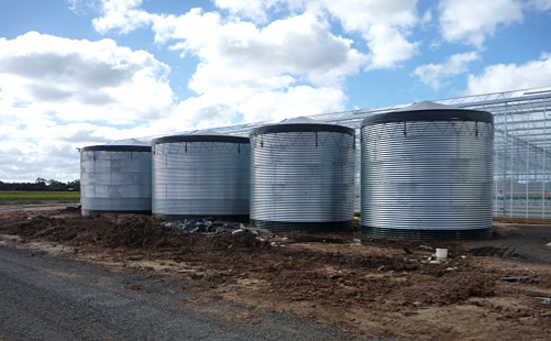 RU Water tanks